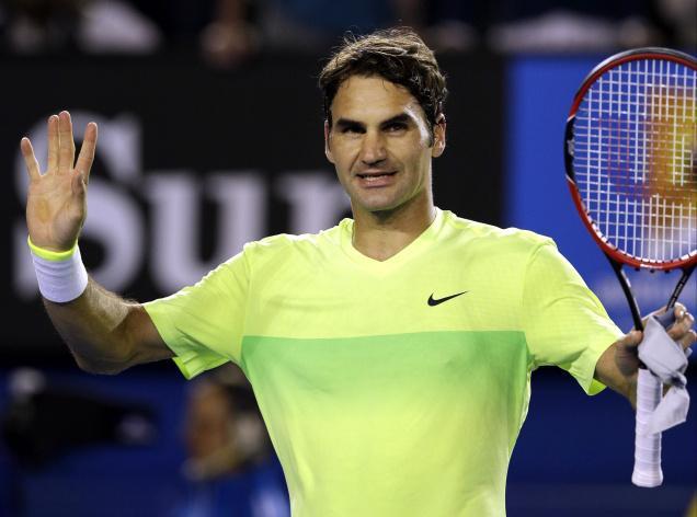 Roger Federe passa agevolmente il primo turno agli Australian Open