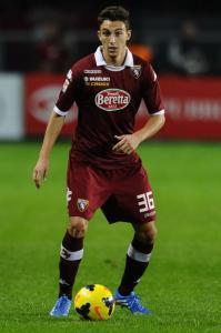Matteo Darmian, terzino destro del Torino.