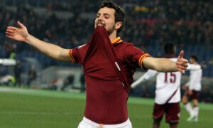 Mattia Destro, attaccante della Roma con il Milan nel destino