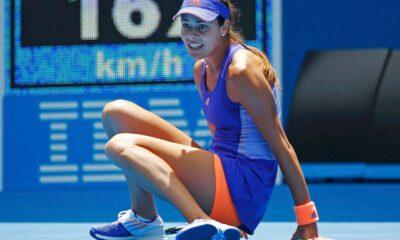 Ana Ivanovic a terra. Sguardo sconsolato, esce subito dagli Australian Open