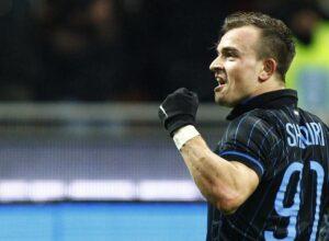 Inter, c'è Shaqiri dal primo minuto contro il Sassuolo