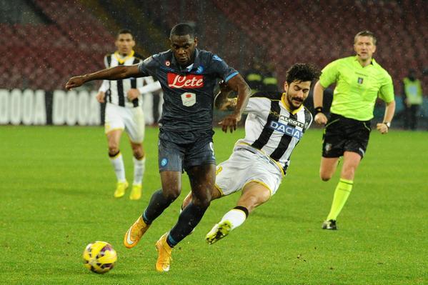 Coppa Italia: sbaglia Allan, il Napoli passa ai rigori