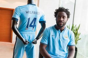 Wilfried Bony, nuovo attaccante del Manchester City e protagonista in Coppa d'Africa