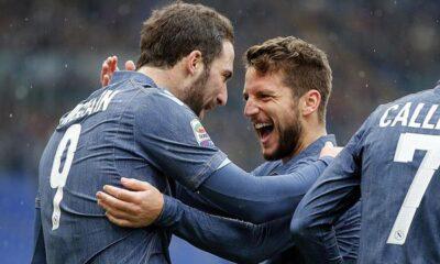 Higuain stende la Lazio: il Napoli è 3°