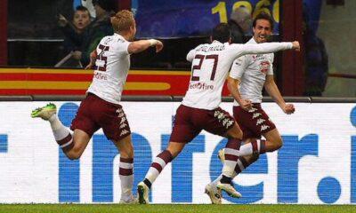 Moretti gela l'Inter, e regala il successo al Torino.