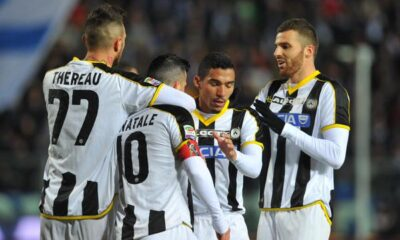L'Udinese torna a vincere: 2-1 ad Empoli