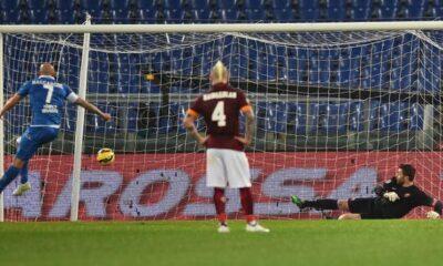 Rossi, rigori e polemiche: la Roma stecca ancora, 1-1 con l'Empoli
