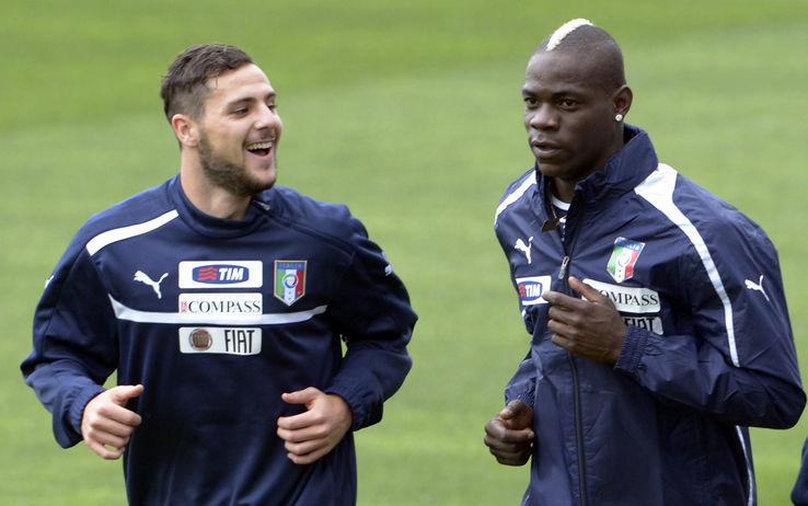 Destro e Balotelli, entrambi cresciuti all'Inter e poi passati ai cugini del Milan