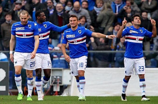 Sampdoria-Empoli 1-0, Eder