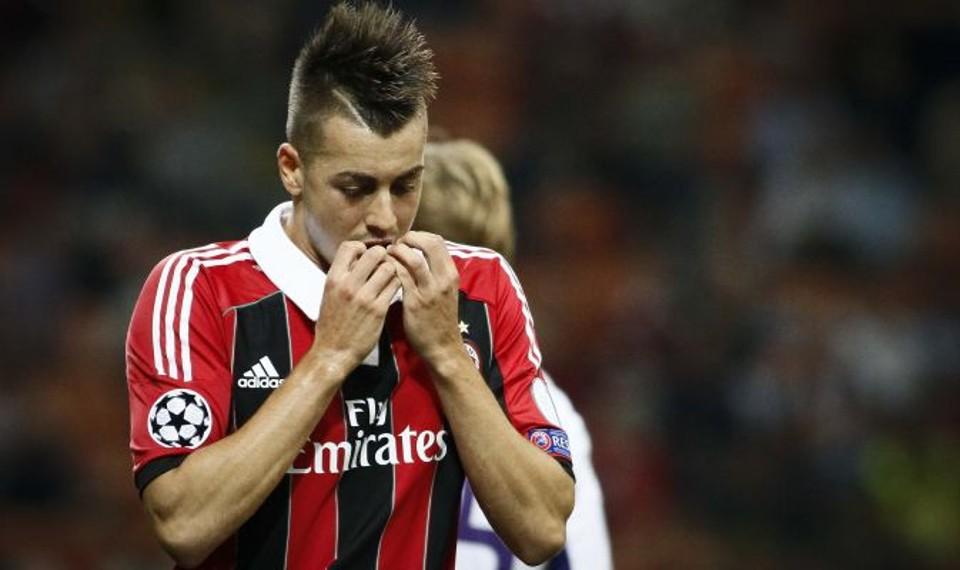 El shaarawy tra i peggiori nella sconfitta del Milan in casa contro l'Atalanta