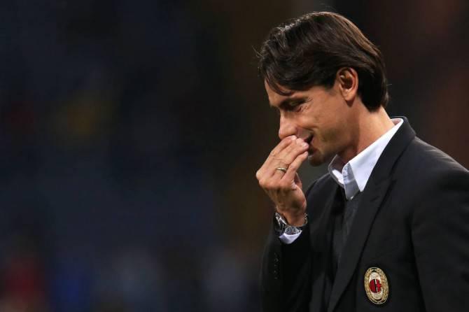 Oggi per Filippo Inzaghi contro il Verona c'è in gioco la sua permanenza sulla panchina del Milan.