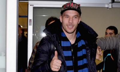 Podolski è un nuovo giocatore dell'Inter