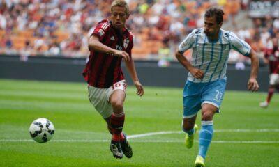Lazio-Milan andata.