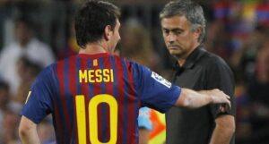 Mourinho e il Chelsea pronti a pagare la clausola rescissoria di 200 milioni che lega Messi al Barcellona.