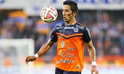 Lucas Barrios, capocannoniere del Montpellier in Ligue 1