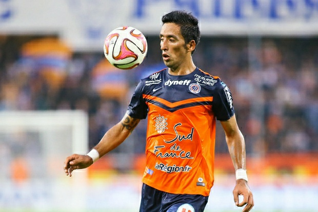 Lucas Barrios, capocannoniere del Montpellier in Ligue 1