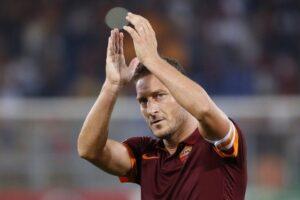 Francesco Totti, una delle poche note liete del Gennaio della Roma