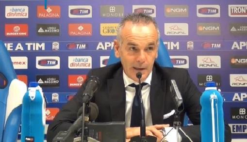 Pioli conferenza stampa Cesena-Lazio.