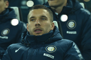 Lukas Podolski, in prestito secco dall'Arsenal all'Inter