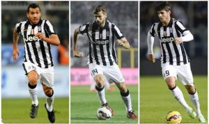 Tevez, Llorente e Morata: i tre tenori dell'attacco bianconero