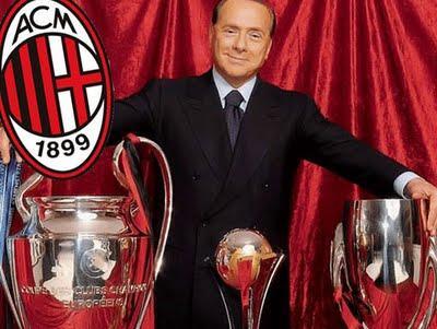 Berlusconi ha chiesto al Milan di arrivare settimo