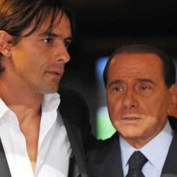 Berlusconi-Inzaghi: il loro rapporto pare iniziare a scricchiolare.