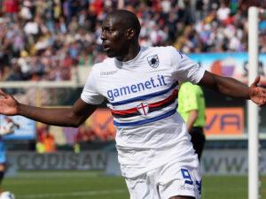 Stefano Okaka, uomo mercato della Sampdoria.