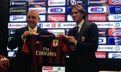 """Milan, Cerci si presenta: """"Vorrei restare qui a lungo"""""""