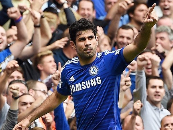 Premier League: Diego Costa, punta del Chelsea