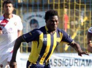 Evans Osei, giovane centrocampista della Juve Stabia