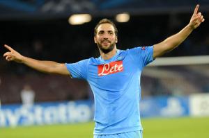 Gonzalo Higuain, uomo chiave in Napoli-Juventus