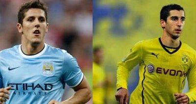 Jovetic e Mkhitaryan, i due obiettivi della Juve