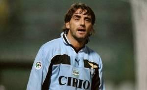 Roberto Mancini, protagonista del derby infinito tra Roma e Lazio