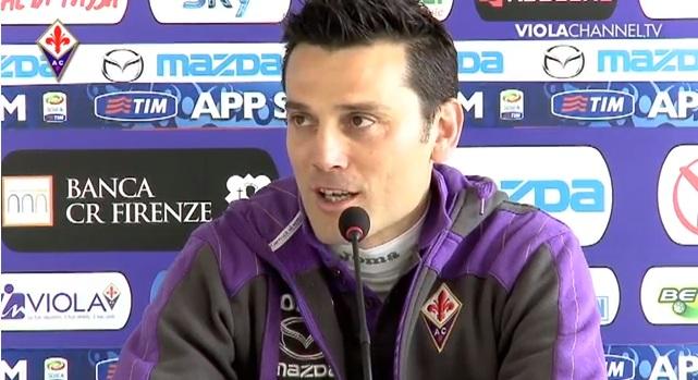 Montella Fiorentina-Cagliari.