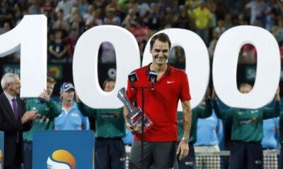 Federer Mille vittorie