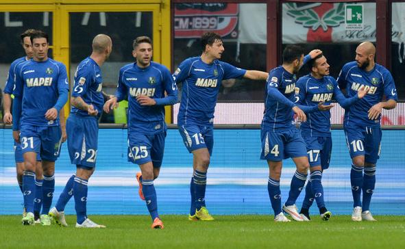 Milan-Sassuolo 1-2