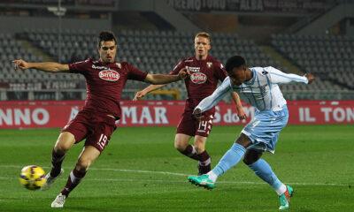 Torino - Lazio: azione di gioco