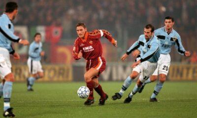 Roma-Lazio ed il primo gol di Totti in un derby