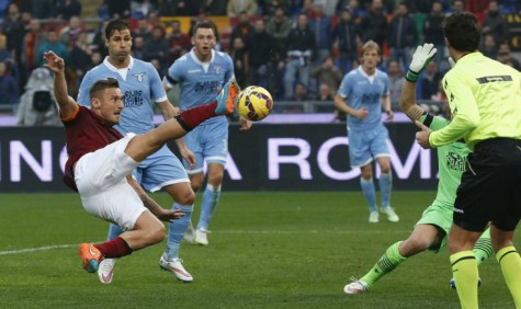 Francesco Totti: un gol da... figurina