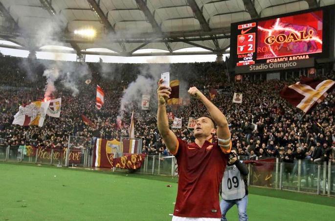 Francesco Totti, dieci reti nella scorsa stagione tra campionato e coppe