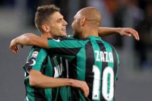 Domenico Berardi e Juventus Simone Zaza, protagonisti della 17a giornata di Serie A