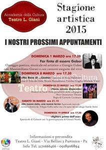Teatro Gianì eventi