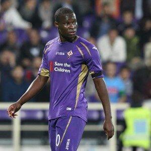 Khouma Babacar, oggi titolare con la Fiorentina.
