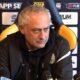 Il collaboratore tecnico Enrico Nicolini ha sostituito Andrea Mandorlini in conferenza stampa