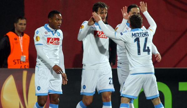 Trionfo Napoli in Turchia: 4-0 al Trabzonspor