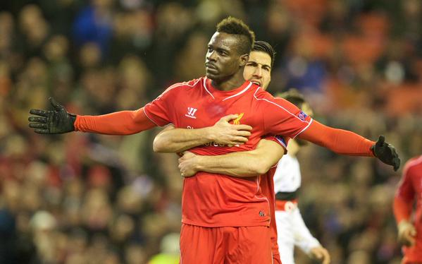 Liverpool-Besiktas 1-0, Balotelli