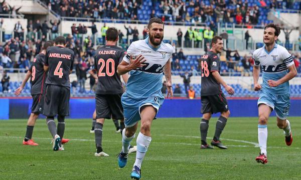 Lazio-Palermo 2-1, Candreva