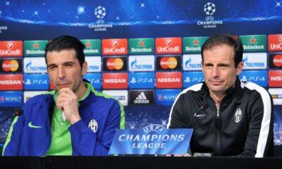 Verso Juventus-Borussia Dortmund: le parole di Allegri in conferenza