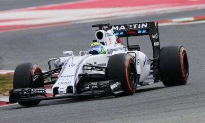 F1, test di Barcellona: Massa strapazza la concorrenza