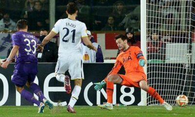 Pagelle Fiorentina-Tottenham 2-0: Gomez e Salah stendono i londinesi